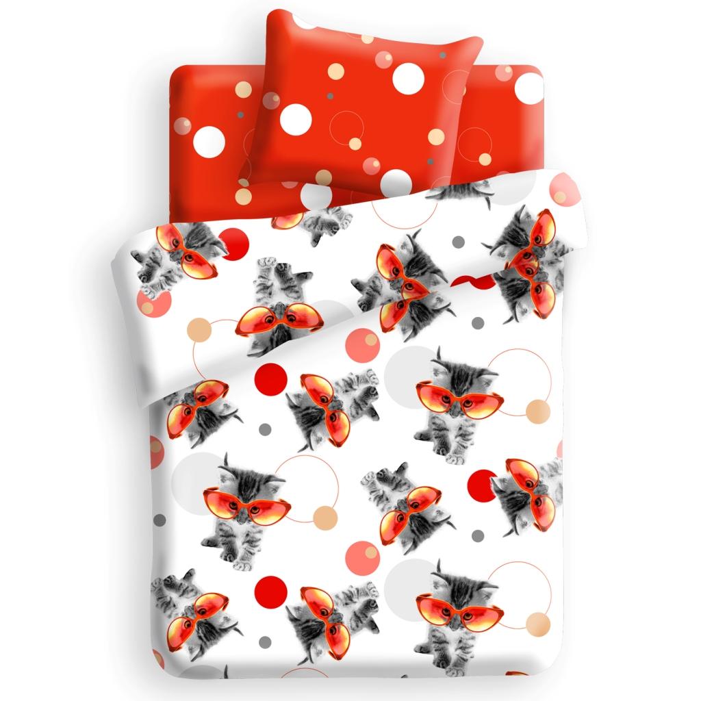 Комплект детского постельного белья For You Оранж, цвет: белый (8635/8636 вид 1)279819