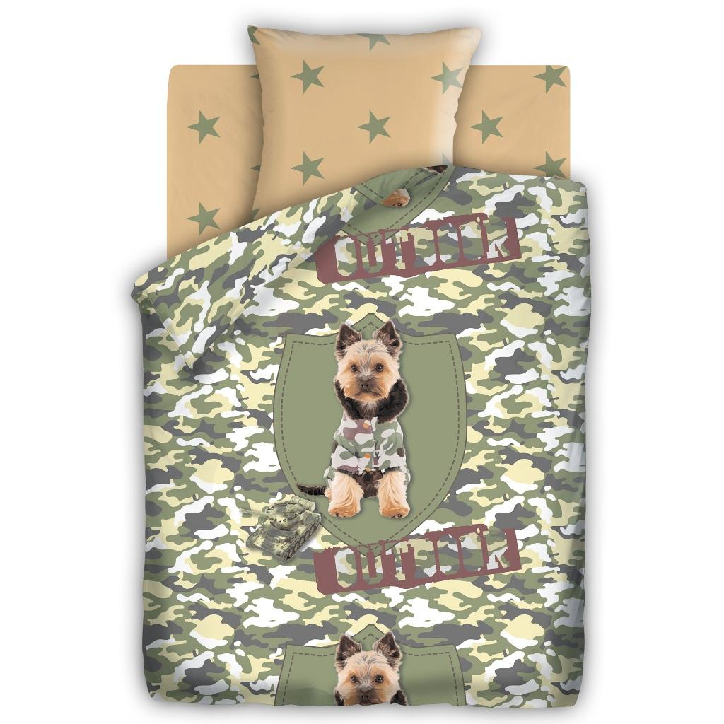 Комплект детского постельного белья For You Йорк, цвет: оливковый (8604/8605 вид 1)327033