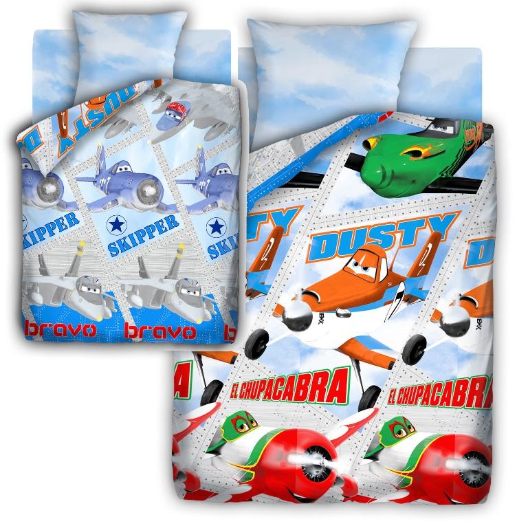 Комплект детского постельного белья Самолеты Самолеты, цвет: белый (8651/8535 вид 1)354193