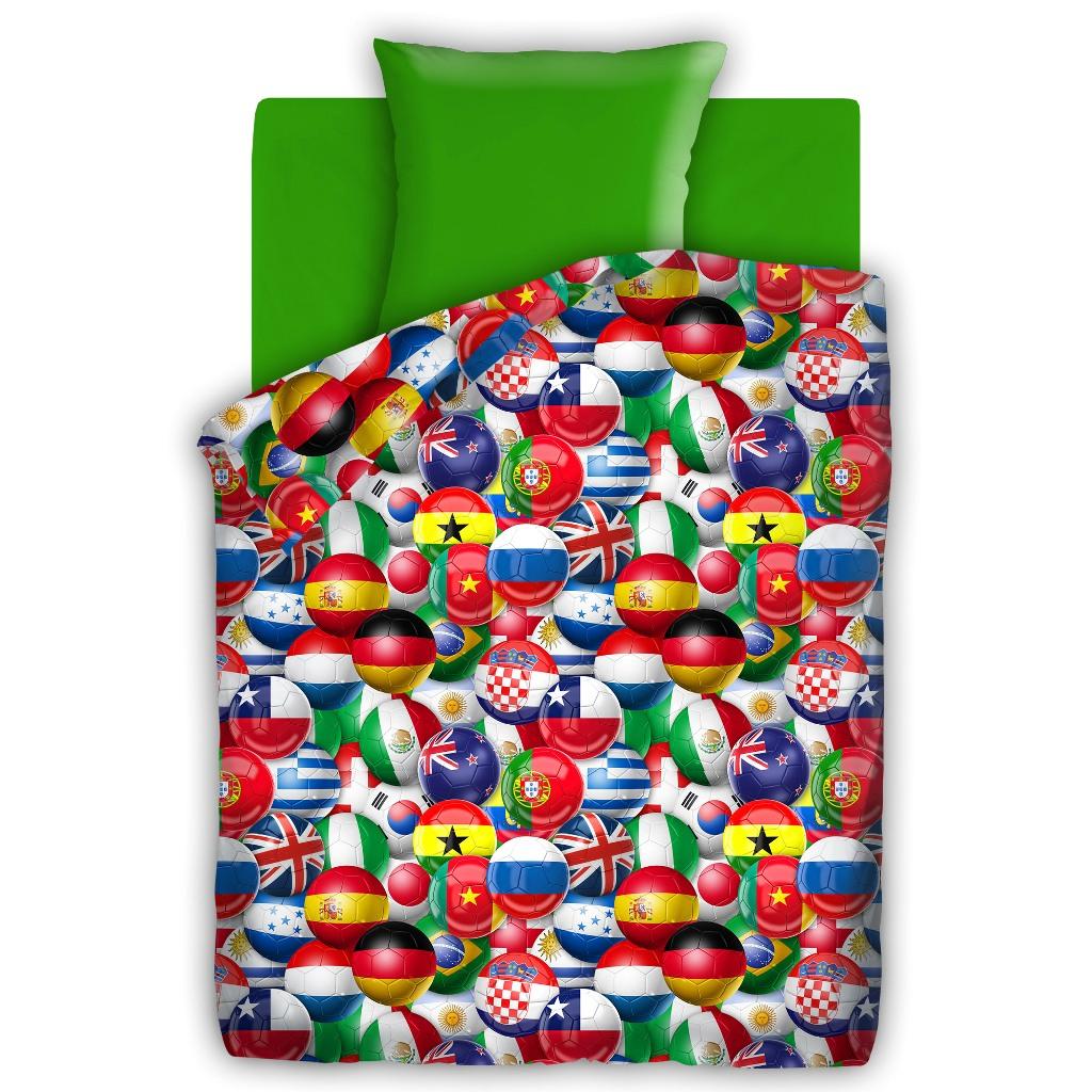 Комплект детского постельного белья For You Чемпионат, цвет: зеленый (4610/8577 вид 2)355260