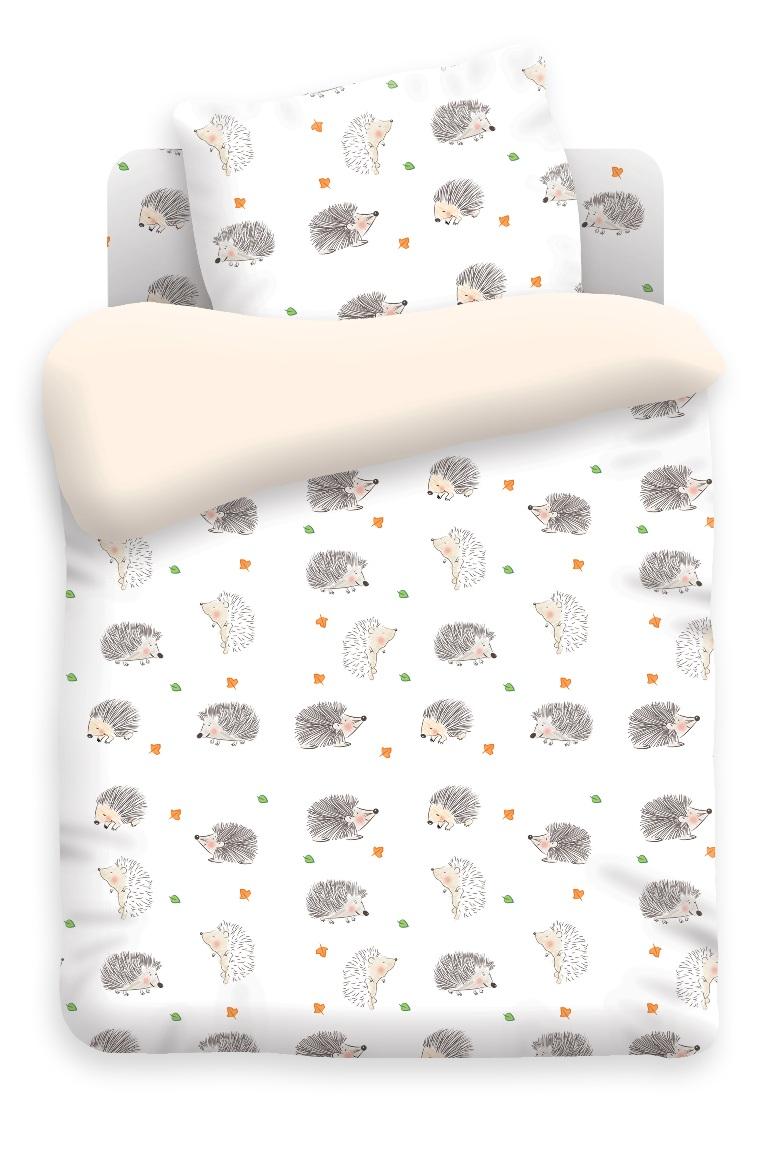 Непоседа Комплект белья для новорожденных Ёжики цвет белый 8813 вид 6