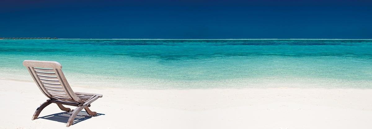 Картина Postermarket Шезлонг на пляже, 33 х 95 см. AG 33-07AG 33-07