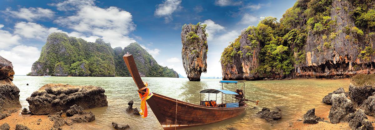 Картина Postermarket Остров Джеймса Бонда в Тайланде, 33 х 95 см. AG 33-13AG 33-13