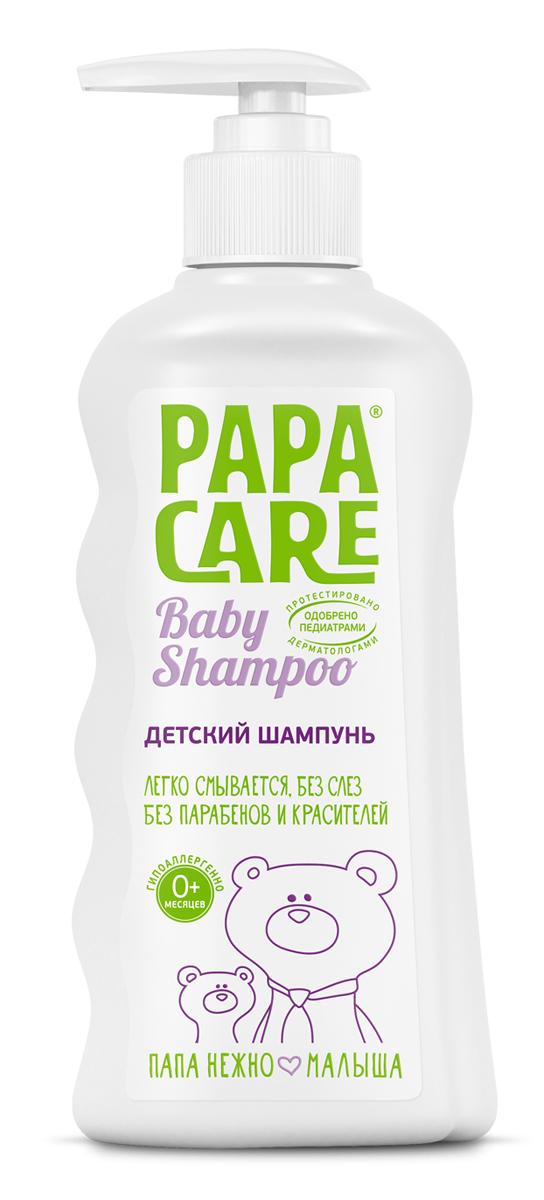 Papa Care Детский шампунь для волос с помпой 250 млPC06-00120Шампунь увлажняет кожу, защищает от сухости и образования корочек. Смягчает волосы, облегчает расчесывание. Не вызывает слез при купании. Горная альпийская вода насыщает кожу влагой, экстракт альпийской розы оказывает противовоспалительное действие. Травяные экстракты череды, календулы, крапивы в комплексе с пантенолом увлажняют и питают кожу, предупреждают появление воспалений. Товар сертифицирован.