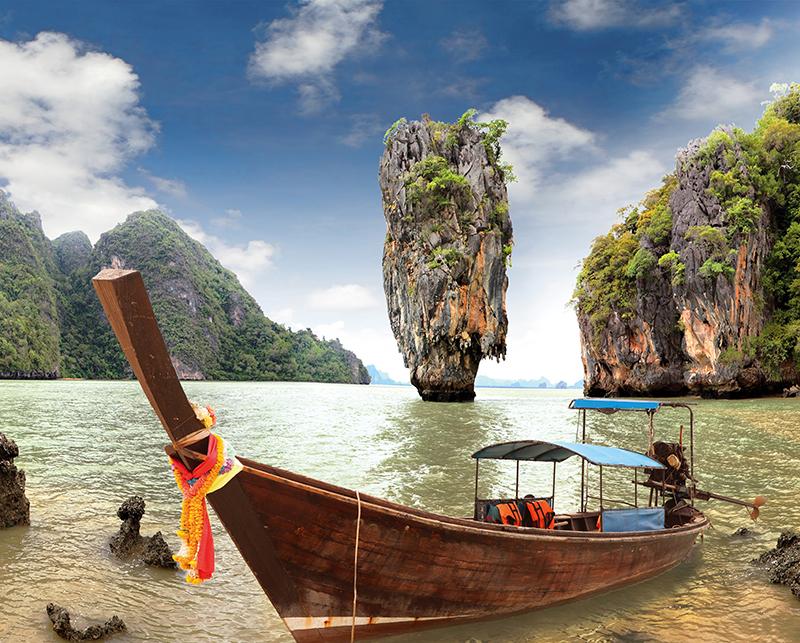 Канвасы Postermarket Остров Джеймса Бонда в Тайланде, 40 х 50 см. CT3-01CT3-01