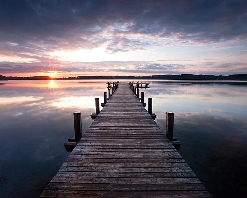 Канвасы Postermarket Деревянный пирс на озере, 40 х 50 см. CT3-13CT3-13