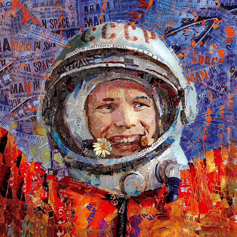 Канвасы Postermarket Гагарин, 65 х 65 см. CT3-31CT3-31