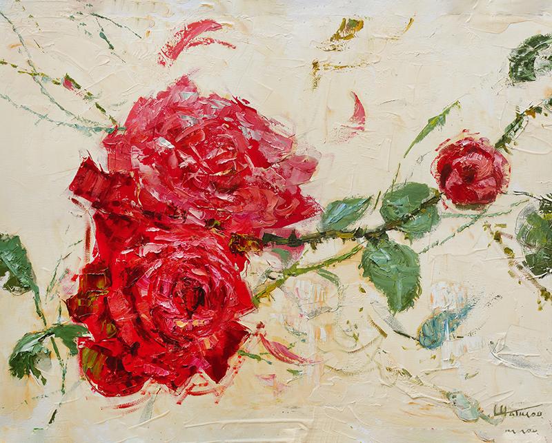 Канвасы Postermarket Дикие розы, 40 х 50 см. CT3-43CT3-43