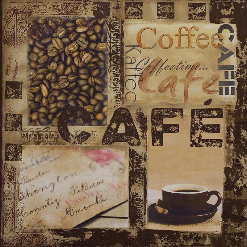 Канвасы Postermarket Кофе , 40 х 40 см. CT3-46CT3-46