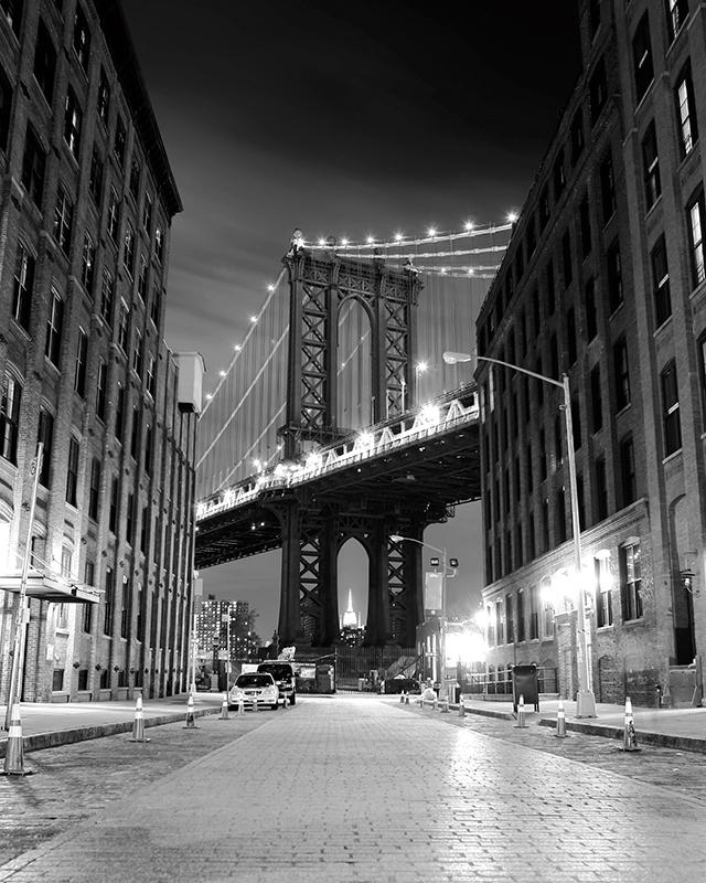 Декобокс Postermarket Бруклинский мост в Нью-Йорке, 40 х 50 см. DC-4010DC-4010