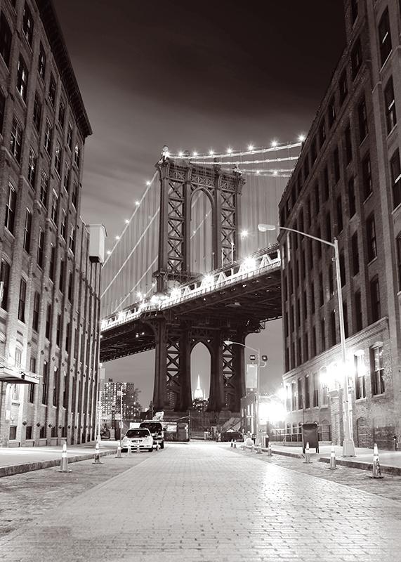 Декобокс Postermarket Бруклинский мост в Нью-Йорке, 50 х 70 см. DC-7010DC-7010