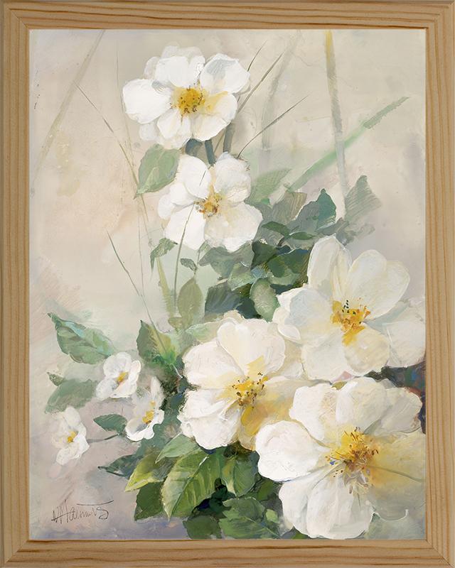 Картина Postermarket Белые цветы, 24 х 30 см. MC-22MC-22Картина Postermarket Белые цветы - это высококачественная современная репродукция на плотной бумаге, одетая в деревянный багет. Интерьер дома и офиса, в котором находится человек, в значительной степени влияет на его настроение и работоспособность. Правильное оформление интерьера создает благоприятный психологический климат, улучшает настроение и мотивирует. Добавьте «красок» в ваш интерьер и, возможно, в вашу жизнь.