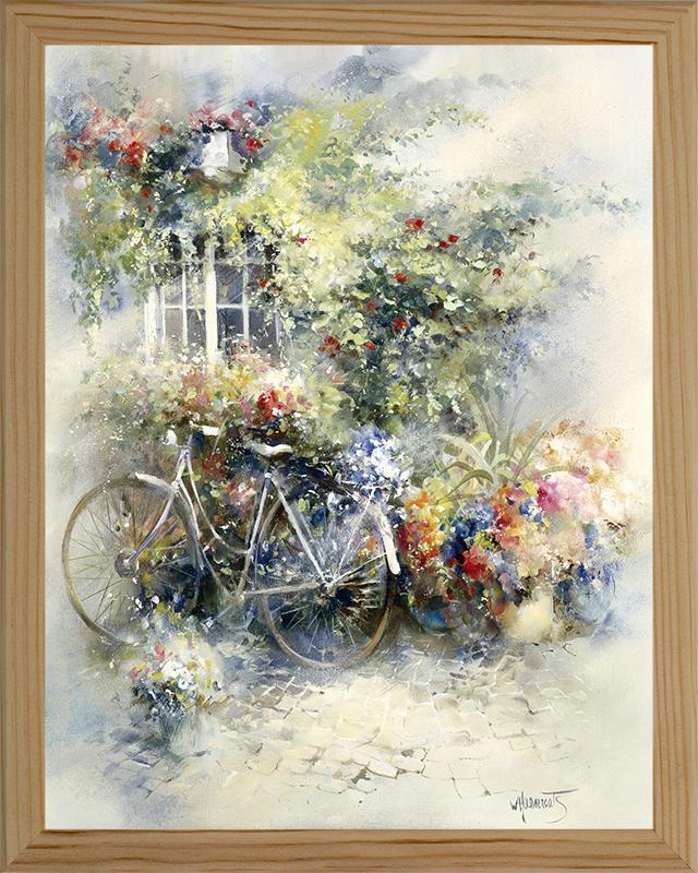 Картина Postermarket Велосипед в цветах, 24 х 30 см. MC-23MC-23
