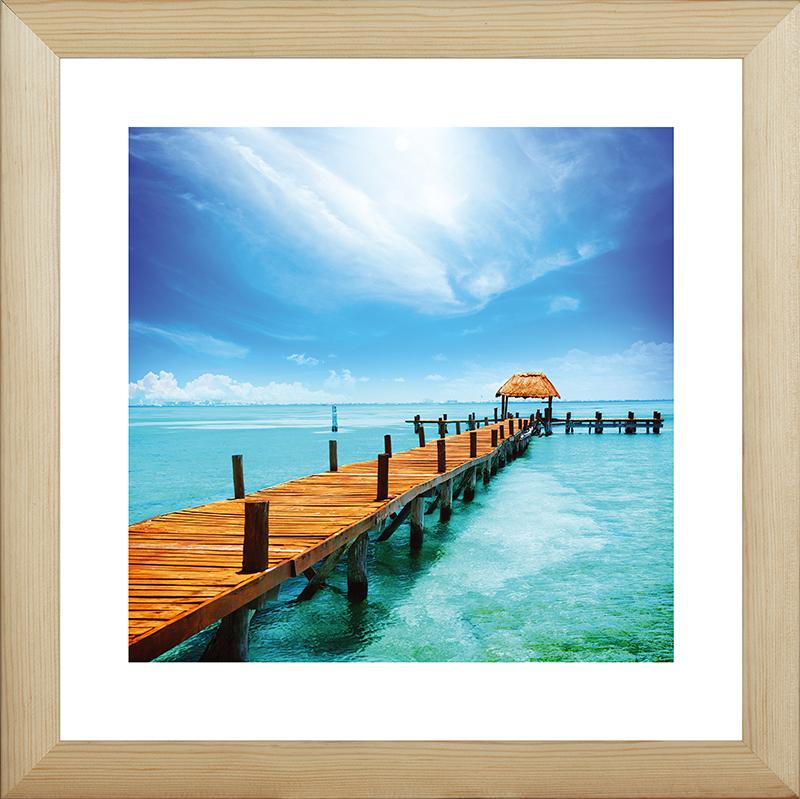Картина Postermarket Тропический рай, 40 х 40 см. MC-40MC-40