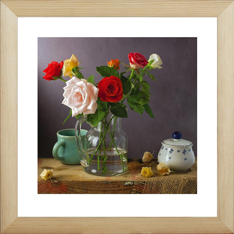 Картина Postermarket Розы и физалисы, 40 х 40 см. MC-55MC-55Картина Postermarket Розы и физалисы прекрасно подойдет для декора интерьера различных помещений. Постер, выполненный в технике фотопечать, обрамлен паспарту и оформлен багетом бежевого цвета. Картина для интерьера (постер) - это современное и актуальное направление в дизайне помещений. Ее можно использовать для оформления любых помещений (дом, квартира, офис, бар, кафе, ресторан или гостиница). работоспособность. Правильное оформление интерьера создает благоприятный психологический климат, улучшает настроение и мотивирует. Размер картины: 400 x 400 мм.