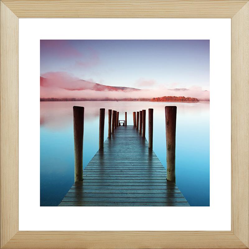 Картина Postermarket Пирс на озере, 40 х 40 см. MC-63MC-63