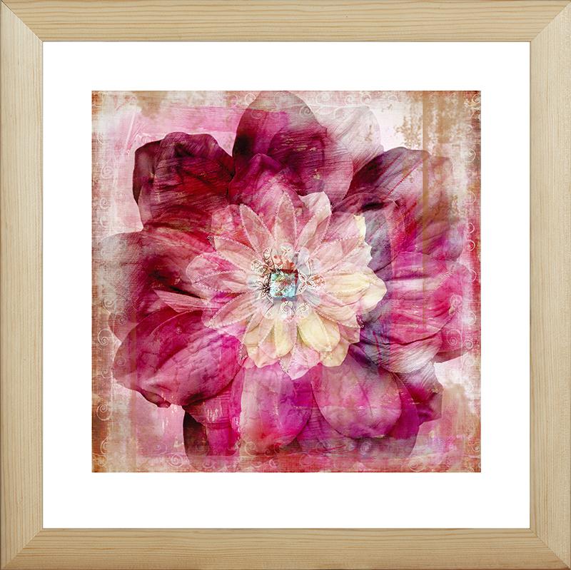 Картина Postermarket Декоративный цветок, 40 х 40 см. MC-67MC-67