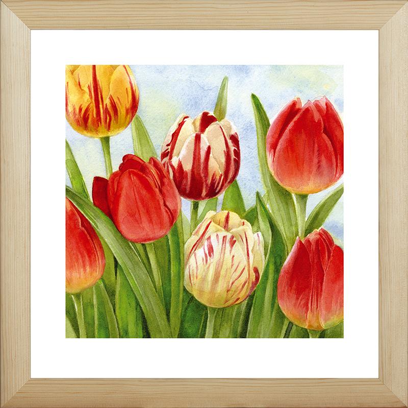Картина Postermarket Весенние тюльпаны, 40 х 40 см. MC-68MC-68