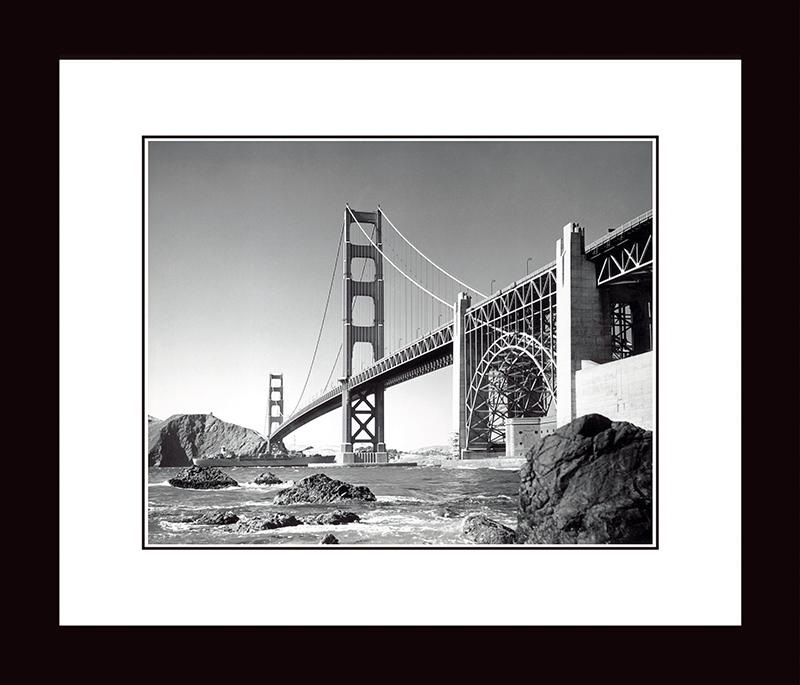 Картина Postermarket Мост «Золотые Ворота», 33 х 40 см. NI 19NI 19