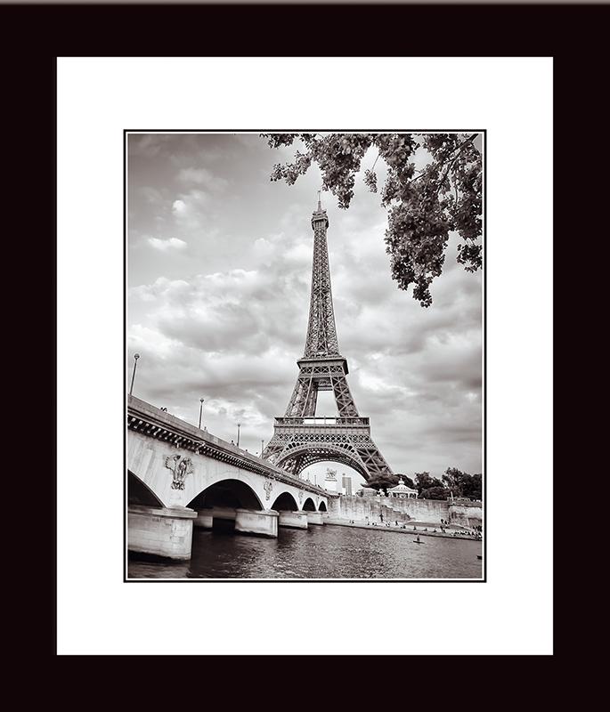 Картина Postermarket Эйфелева башня и мост Йена, 33 х 40 см. NI 20NI 20