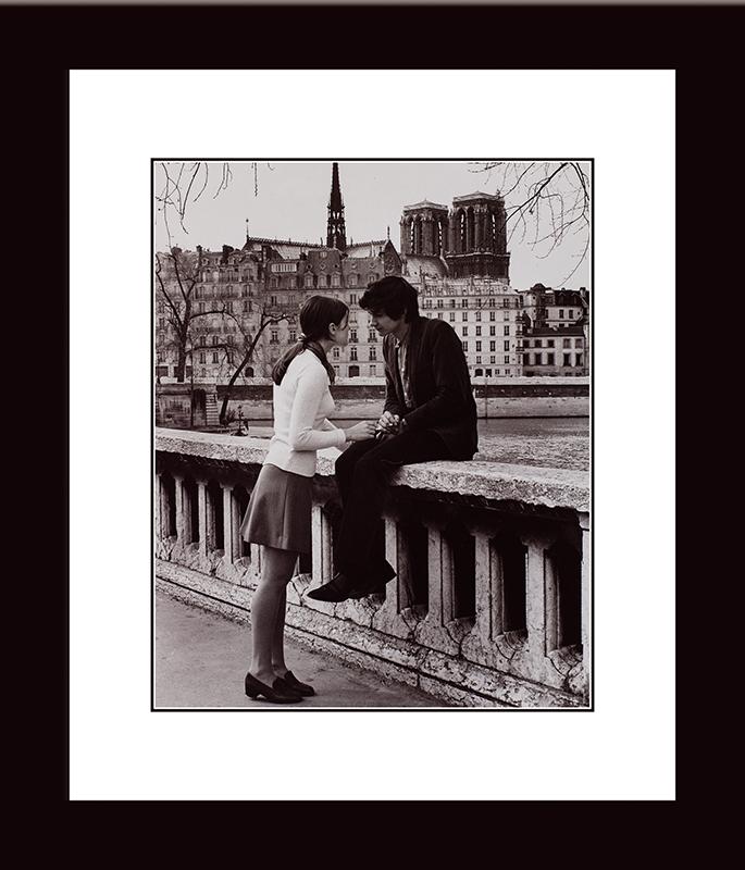Картина Postermarket Влюбленные в Париже, 33 х 40 см. NI 25NI 25