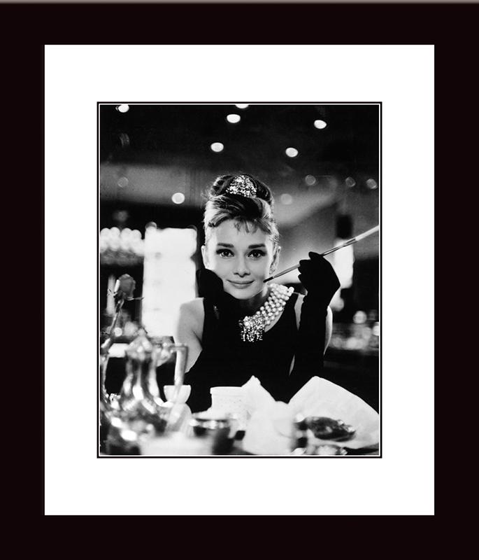 Картина Postermarket Одри Хепбёрн — Завтрак у Тиффани, 27 х 32 см. NI 44NI 44