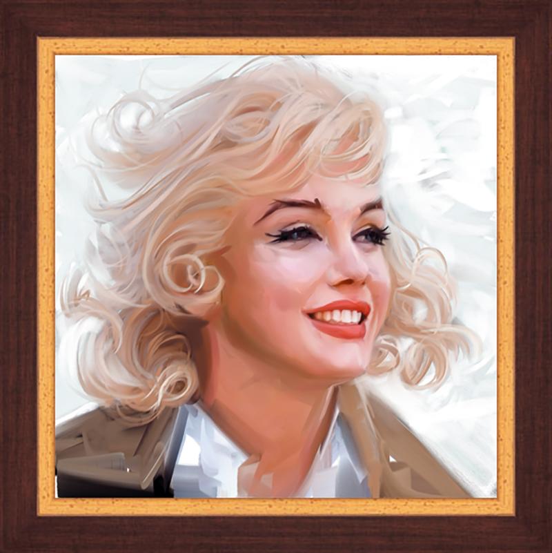 Картина Postermarket Мерлин Монро, 30 х 30 см. PM-3011PM-3011