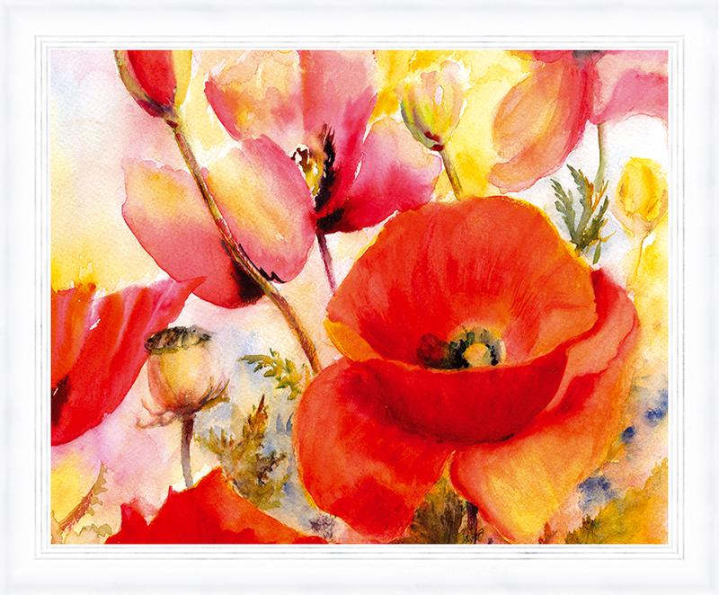 Картина Postermarket Дикие маки, 30 х 40 см. PM-3402PM-3402