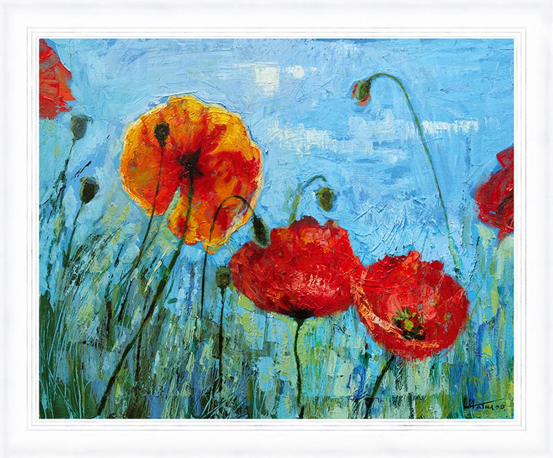 Картина Postermarket Красные маки, 30 х 40 см. PM-3403PM-3403