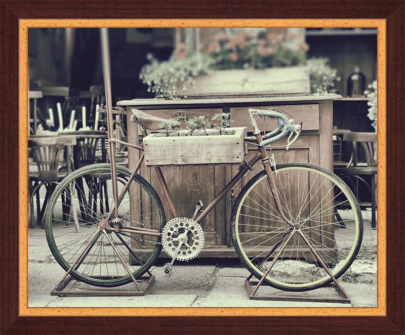 Картина Postermarket Винтажный велосипед с цветам , 40 х 50 см. PM-4011PM-4011