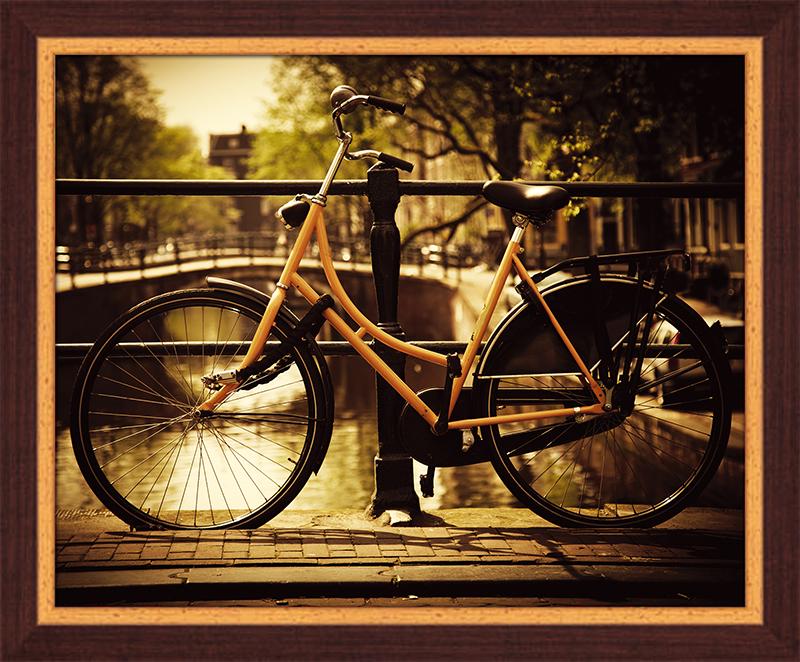 Картина Postermarket Велосипед в Амстердаме, 40 х 50 см. PM-4034PM-4034