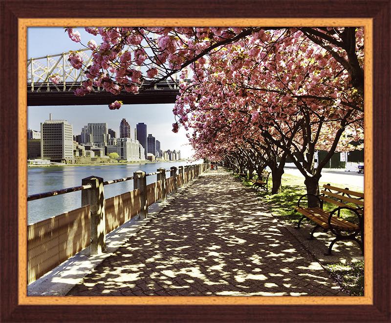 Картина Postermarket Сакура в Нью-Йорке, 40 х 50 см. PM-4037PM-4037Картина Postermarket Сакура в Нью-Йорке прекрасно подойдет для декора интерьера различных помещений. Постер, выполненный в технике фотопечать, оформлен багетом темно-коричневого цвета. Картина для интерьера (постер) - это современное и актуальное направление в дизайне помещений. Ее можно использовать для оформления любых помещений (дом, квартира, офис, бар, кафе, ресторан или гостиница). работоспособность. Правильное оформление интерьера создает благоприятный психологический климат, улучшает настроение и мотивирует. Размер картины: 400 x 500 мм.