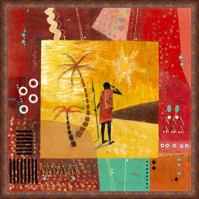 Картина Postermarket Африка II, 50 х 50 см. PM-5002PM-5002Картина Postermarket Африка II прекрасно подойдет для декора интерьера различных помещений. Постер, выполненный в технике фотопечать, оформлен багетом коричневого цвета. Картина для интерьера (постер) - это современное и актуальное направление в дизайне помещений. Ее можно использовать для оформления любых помещений (дом, квартира, офис, бар, кафе, ресторан или гостиница). работоспособность. Правильное оформление интерьера создает благоприятный психологический климат, улучшает настроение и мотивирует. Размер картины: 500 x 500 мм.