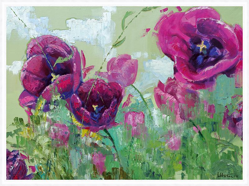 Картина Postermarket Тюльпаны, 60 х 80 см. PM-6007PM-6007