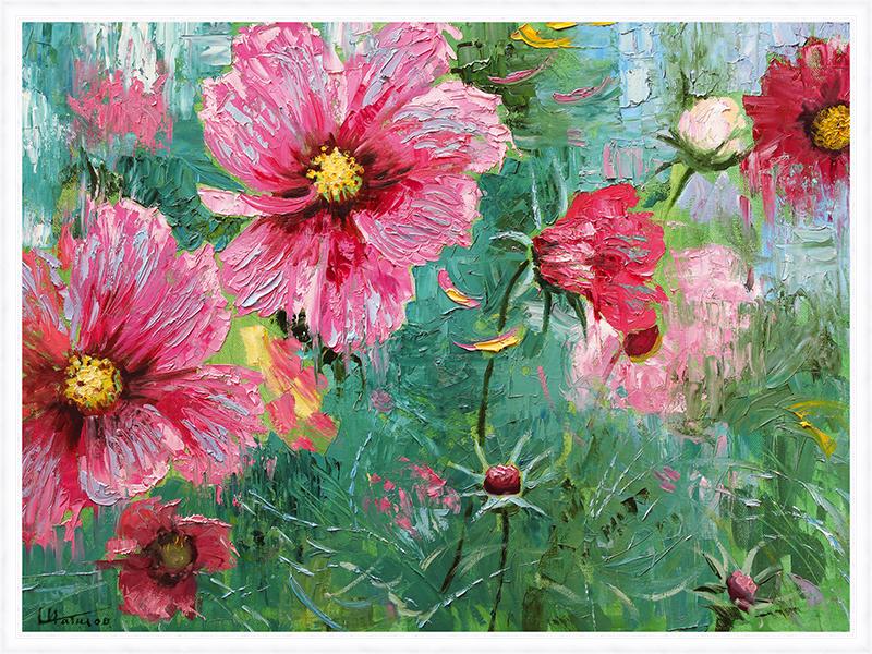 Картина Postermarket Фиалки в лесу, 60 х 80 см. PM-6009PM-6009
