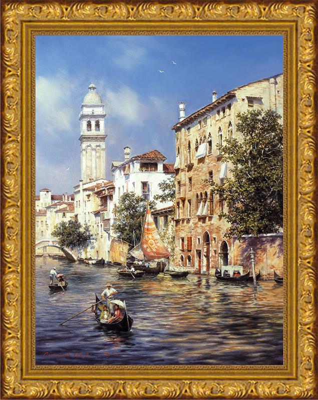 Картина Postermarket Солнечная Венеция, 30 х 40 см. SA-3007SA-3007Картина Postermarket Солнечная Венеция прекрасно подойдет для декора интерьера различных помещений. Постер, выполненный в технике фотопечать, оформлен багетом золотистого цвета. Картина для интерьера (постер) - это современное и актуальное направление в дизайне помещений. Ее можно использовать для оформления любых помещений (дом, квартира, офис, бар, кафе, ресторан или гостиница). работоспособность. Правильное оформление интерьера создает благоприятный психологический климат, улучшает настроение и мотивирует. Размер картины: 300 x 400 мм.