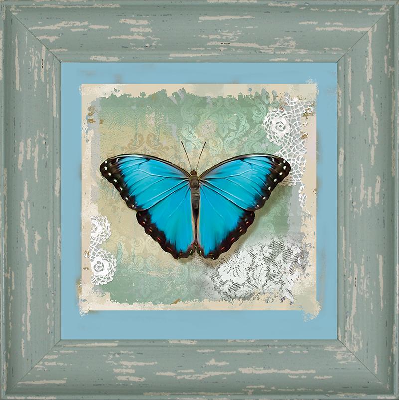 Картина Postermarket Бабочка Голубой Морфо, 20 х 20 см. WA-14WA-14Картина Postermarket Бабочка Голубой Морфо - это высококачественная современная репродукция на плотной бумаге, одетая в изысканный багет. Интерьер дома и офиса, в котором находится человек, в значительной степени влияет на его настроение и работоспособность. Правильное оформление интерьера создает благоприятный психологический климат, улучшает настроение и мотивирует. Добавьте «красок» в ваш интерьер и, возможно, в вашу жизнь.