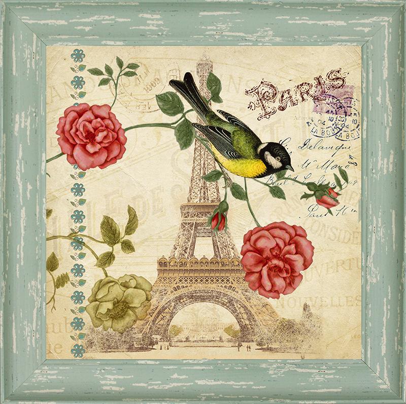 Картина Postermarket Париж, 30 х 30 см. WA-15WA-15