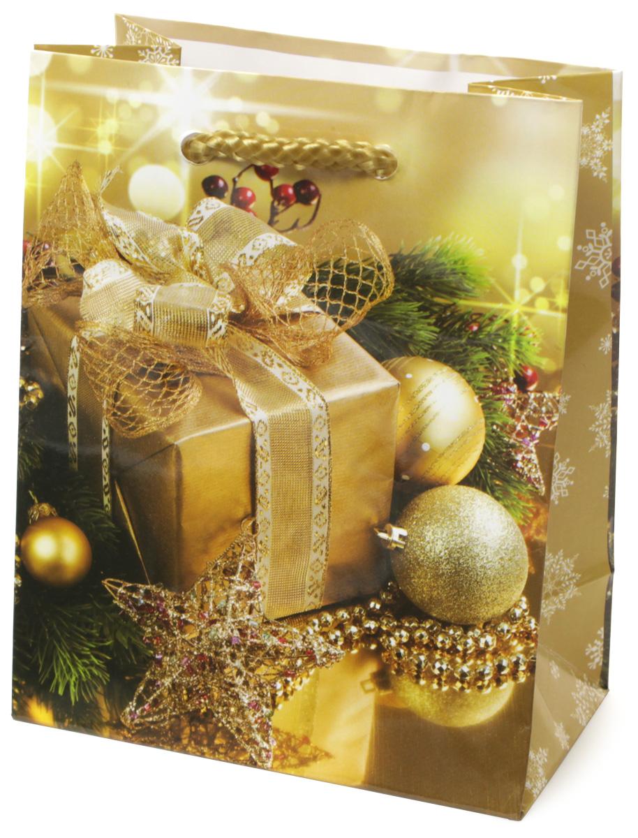 Пакет подарочный МегаМАГ Новый год, 11 х 13,7 х 6 см. 1050 S1050 SПодарочный пакет МегаМАГ, изготовленный из плотной ламинированной бумаги, станет незаменимым дополнением к выбранному подарку. Для удобной переноски на пакете имеются две ручки-шнурки. Подарок, преподнесенный в оригинальной упаковке, всегда будет самым эффектным и запоминающимся. Окружите близких людей вниманием и заботой, вручив презент в нарядном, праздничном оформлении.