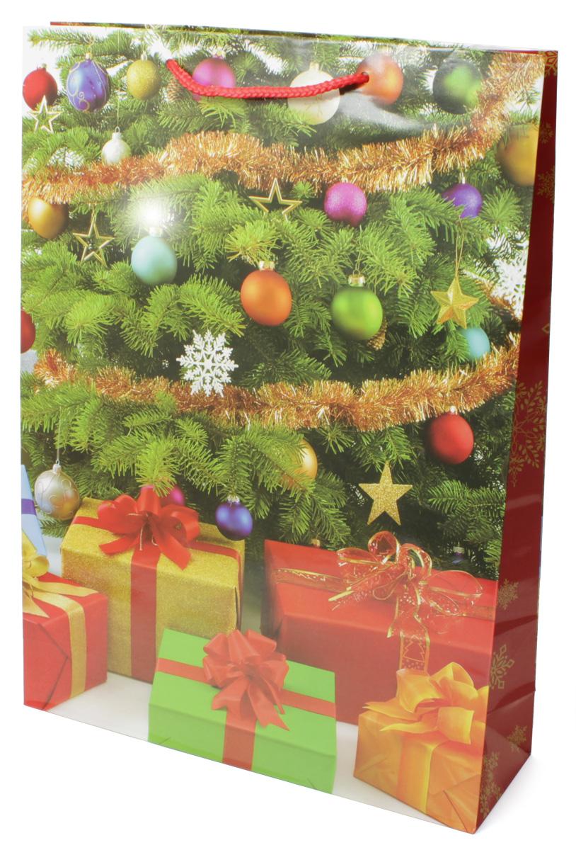 Пакет подарочный МегаМАГ Новый год, 32,4 х 44,5 х 10,2 см. 5058 XL5058 XLПодарочный пакет МегаМАГ, изготовленный из плотной ламинированной бумаги, станет незаменимым дополнением к выбранному подарку. Для удобной переноски на пакете имеются две ручки-шнурки. Подарок, преподнесенный в оригинальной упаковке, всегда будет самым эффектным и запоминающимся. Окружите близких людей вниманием и заботой, вручив презент в нарядном, праздничном оформлении.