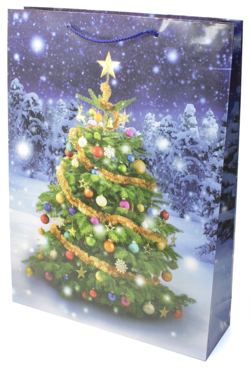 Пакет подарочный МегаМАГ Новый год, 32,4 х 44,5 х 10,2 см. 5067 XL5067 XLПодарочный пакет МегаМАГ, изготовленный из плотной ламинированной бумаги, станет незаменимым дополнением к выбранному подарку. Для удобной переноски на пакете имеются две ручки-шнурки. Подарок, преподнесенный в оригинальной упаковке, всегда будет самым эффектным и запоминающимся. Окружите близких людей вниманием и заботой, вручив презент в нарядном, праздничном оформлении.