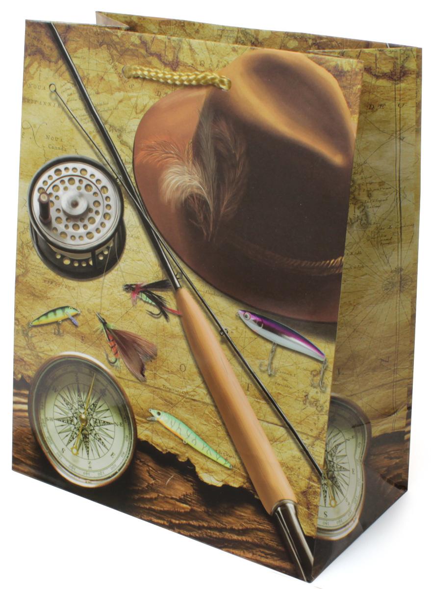 Пакет подарочный МегаМАГ Удочка. Компас. Шляпа, 18 х 22,7 х 10 см. 2127 M2127 MПодарочный пакет МегаМАГ, изготовленный из плотной ламинированной бумаги, станет незаменимым дополнением к выбранному подарку. Для удобной переноски на пакете имеются две ручки-шнурки. Подарок, преподнесенный в оригинальной упаковке, всегда будет самым эффектным и запоминающимся. Окружите близких людей вниманием и заботой, вручив презент в нарядном, праздничном оформлении.