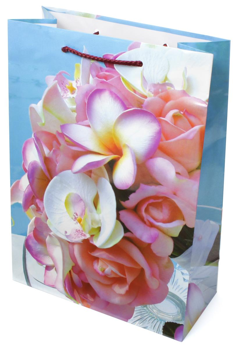 Пакет подарочный МегаМАГ Цветы, 22 х 31 х 10 см. 783 ML783 MLПодарочный пакет МегаМАГ, изготовленный из плотной ламинированной бумаги, станет незаменимым дополнением к выбранному подарку. Для удобной переноски на пакете имеются две ручки-шнурки. Подарок, преподнесенный в оригинальной упаковке, всегда будет самым эффектным и запоминающимся. Окружите близких людей вниманием и заботой, вручив презент в нарядном, праздничном оформлении.