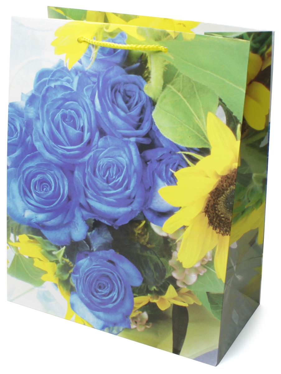 Пакет подарочный МегаМАГ Цветы, 26,4 х 32,7 х 13,6 см. 3063 L3063 LПодарочный пакет МегаМАГ, изготовленный из плотной ламинированной бумаги, станет незаменимым дополнением к выбранному подарку. Для удобной переноски на пакете имеются две ручки-шнурки. Подарок, преподнесенный в оригинальной упаковке, всегда будет самым эффектным и запоминающимся. Окружите близких людей вниманием и заботой, вручив презент в нарядном, праздничном оформлении.