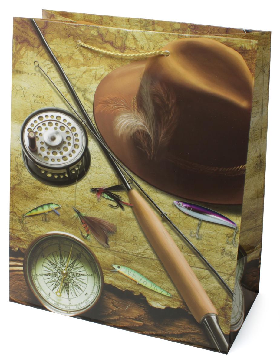 Пакет подарочный МегаМАГ Удочка. Компас. Шляпа, 26,4 х 32,7 х 13,6 см. 3128 L3128 LПодарочный пакет МегаМАГ, изготовленный из плотной ламинированной бумаги, станет незаменимым дополнением к выбранному подарку. Для удобной переноски на пакете имеются две ручки-шнурки. Подарок, преподнесенный в оригинальной упаковке, всегда будет самым эффектным и запоминающимся. Окружите близких людей вниманием и заботой, вручив презент в нарядном, праздничном оформлении.