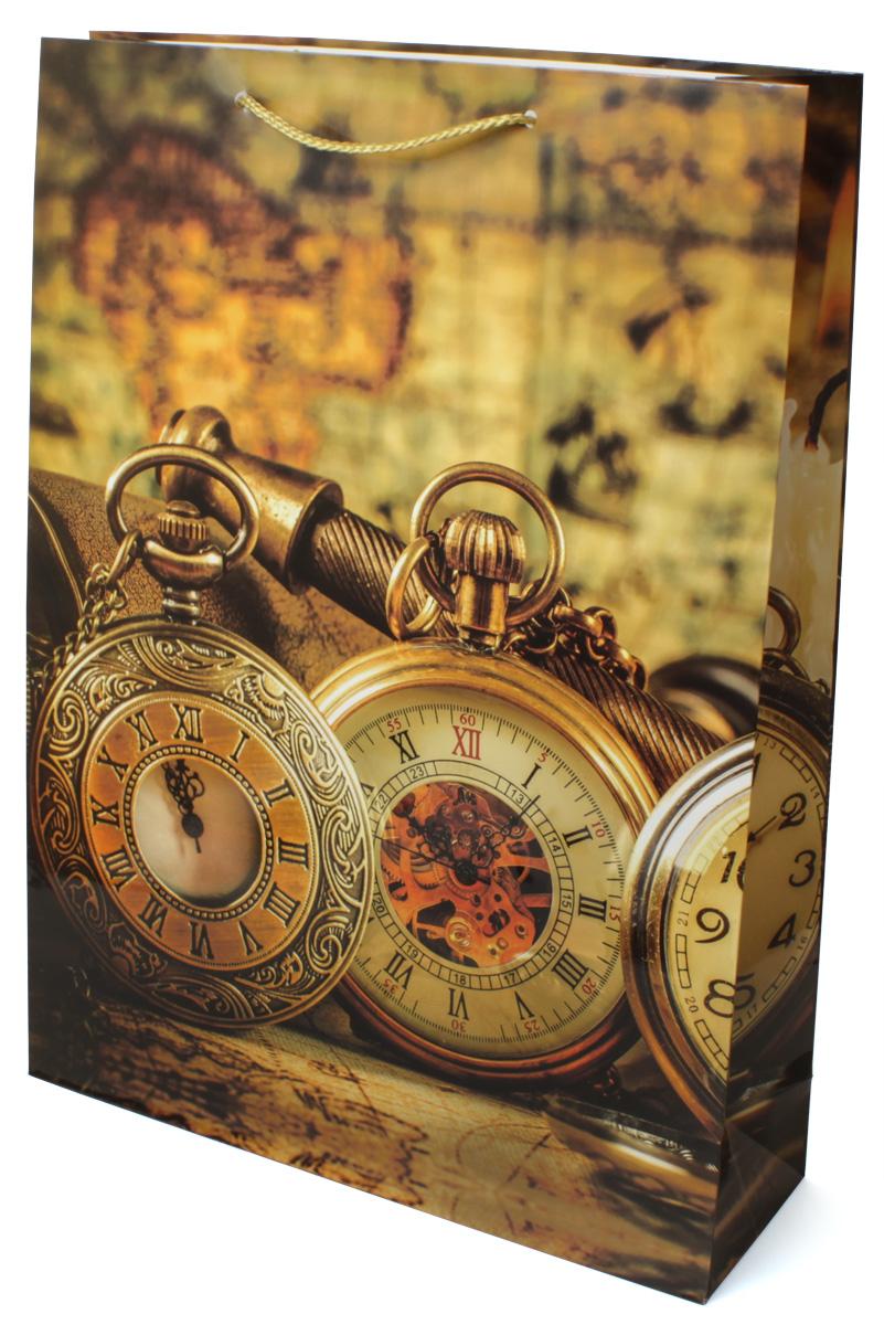Пакет подарочный МегаМАГ Карта. Часы, 32,4 х 44,5 х 10,2 см. 5048 XL5048 XLПодарочный пакет МегаМАГ, изготовленный из плотной ламинированной бумаги, станет незаменимым дополнением к выбранному подарку. Для удобной переноски на пакете имеются две ручки-шнурки. Подарок, преподнесенный в оригинальной упаковке, всегда будет самым эффектным и запоминающимся. Окружите близких людей вниманием и заботой, вручив презент в нарядном, праздничном оформлении.
