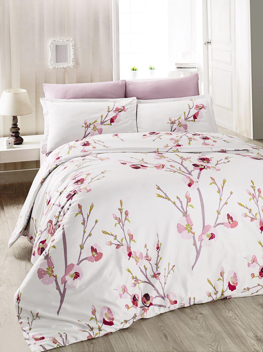 Комплект белья Clasy Pan, евро, наволочки 50х70, цвет: розовый5252Комплект постельного белья Clasy Pan состоит из пододеяльника, простыни и четырех наволочек. Товары под брендом Clasy изготовлены в Турции из высококачественного хлопка на одной из ведущих фабрик. Выбирая постельное белье Clasy вы будете приятно удивлены качественной выделкой ткани, красивыми и модными расцветками, а так же его отличным качеством. Все наволочки у комплектов Clasy имеют клапан без пуговиц и молнии. Все пододеяльники с пуговицами на нижнем конце. Все изделия упакованы в подарочные картонные коробки, к которым прилагается фирменный пакет с логотипом.