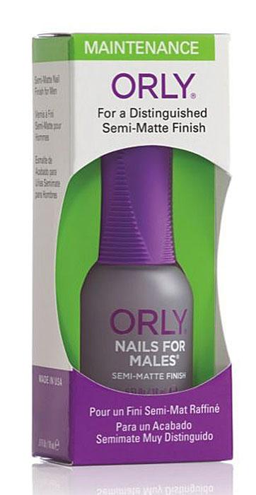 Orly Покрытие для ногтей мужчин Nails For Males, 18 мл24240Уникальное матовое покрытие Orly Nails For Males для ногтей мужчин, которое совершенно натурально смотрится на ногтях. Защищает ногти и подчеркивает их безукоризненность. Способ применения : нанесите 1-2 слоя покрытия на обезжиренную ногтевую пластину. Характеристики: Объем: 18 мл. Артикул: 44240. Производитель: США. Товар сертифицирован. Состав: этилацетат, бутилацетат, SDА-40В, нитроцеллюлоза, сополимеры, изопропил, трифенил фосфат, триметил-пентанил диизобутират, кварц, ацетобутират целлюлозы, камфара, стеаралкониум бентонит, стеаралкониум гекторит, диацетоновый спирт, лимонная кислота, бензофенон-1, диметикон, пигменты.