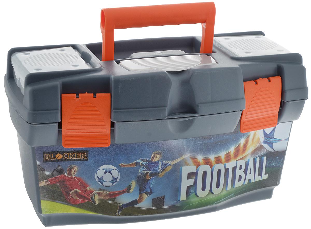 """Ящик для инструментов Blocker """"Master Football"""", 40 х 21 х 23 см BR3778"""