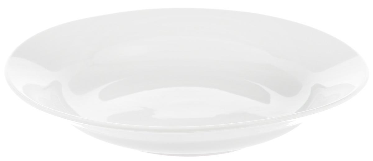 Тарелка глубокая Фарфор Вербилок, диаметр 23 см. 2259000Б2259000БГлубокая тарелка Фарфор Вербилок выполнена из высококачественного фарфора. Она прекрасно впишется в интерьер вашей кухни и станет достойным дополнением к кухонному инвентарю. Тарелка Фарфор Вербилок подчеркнет прекрасный вкус хозяйки и станет отличным подарком. Диаметр тарелки: 23 см. Высота тарелки: 4 см.